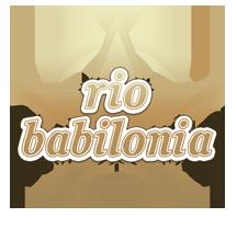 rio babilônia Logo
